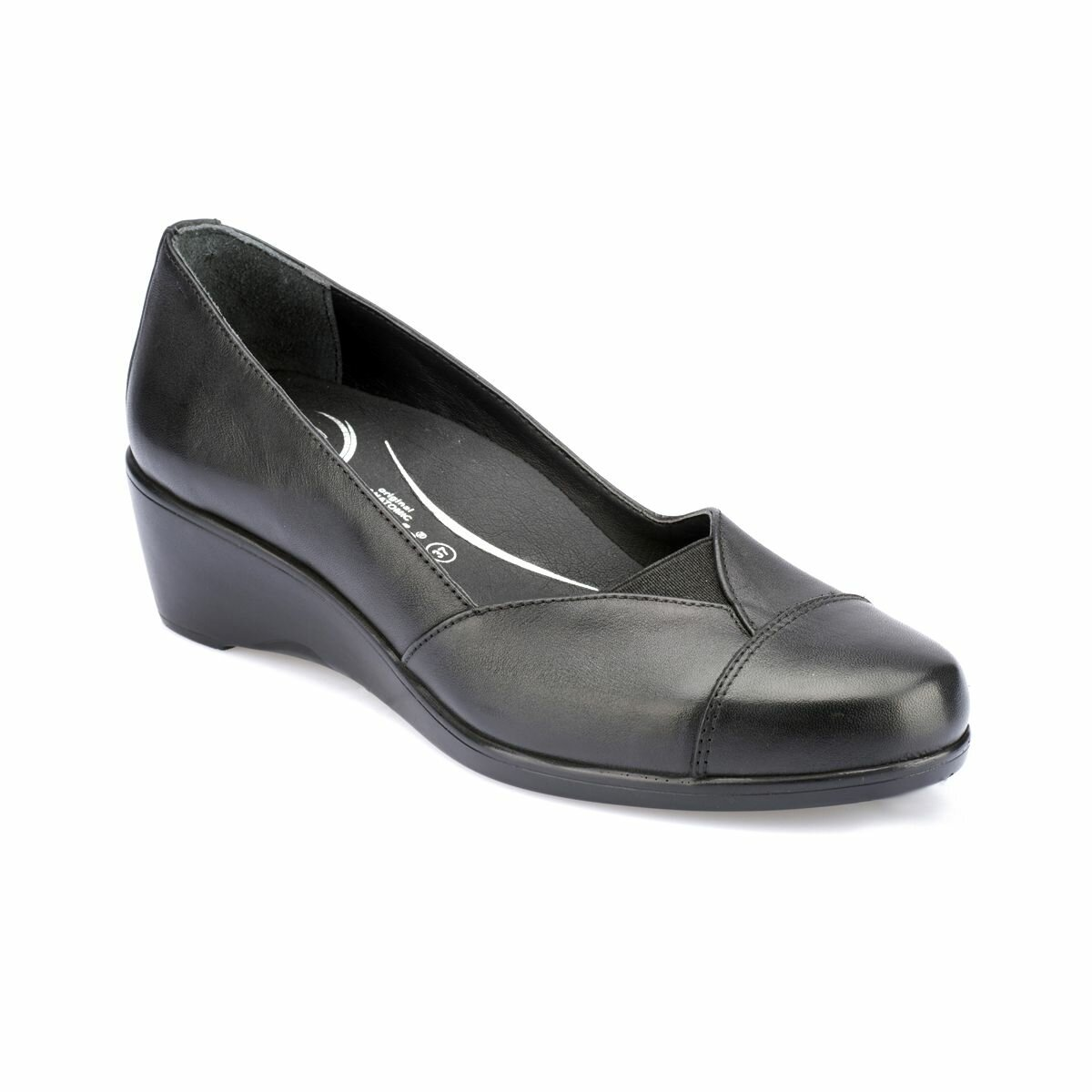 FLO 82.100142CZ Black Women Shoes Polaris 5 Point