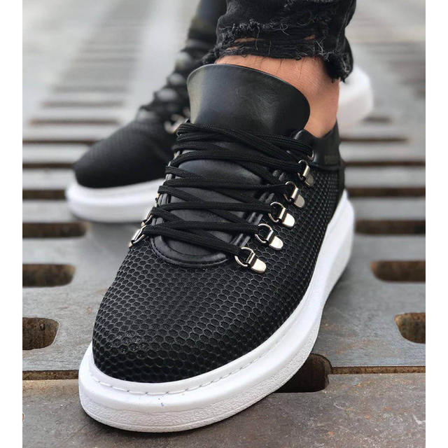 Chekich CH021 Shoes Men Shoes color: Black