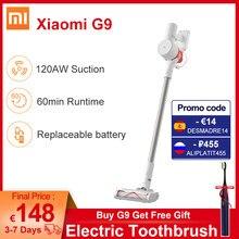 Newest Xiaomi Mi Vacuum Cleaner G9 Smart Home 120AW Handheld Cordless Dust Collector Mijia Floor Carpet Sweep Machine aspiradora