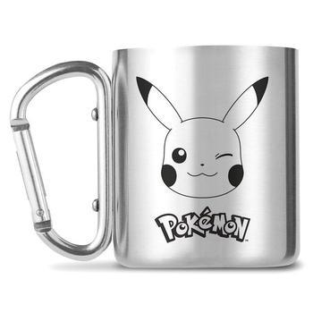 Taza de metal con gancho de Pikachu Merchandising de Pokémon Productos que enviamos en 3 días