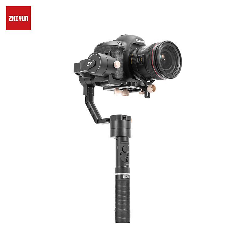 ZHIYUN Crane Plus Handheld 3-Axis Stabilizer for DSLRs Camera Support POV Mode zhiyun z1 smooth2 ii c rstorage bag mobile phone three axis gimbal gyroscope case stabilizer hard box for evolution pround