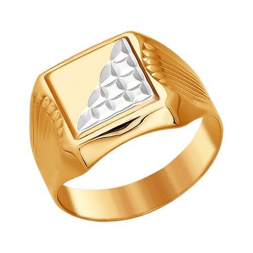 Gold Signet Ring SOKOLOV