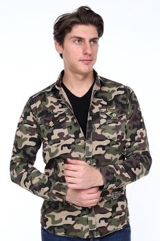 GULF BIRD MENS SHIRT & JACKET MILITARY Shirt Gift For Men LONG SLEEVE 2020 STYLE SLIM FIT %100 COTTON REAL EUROPEAN SIZE