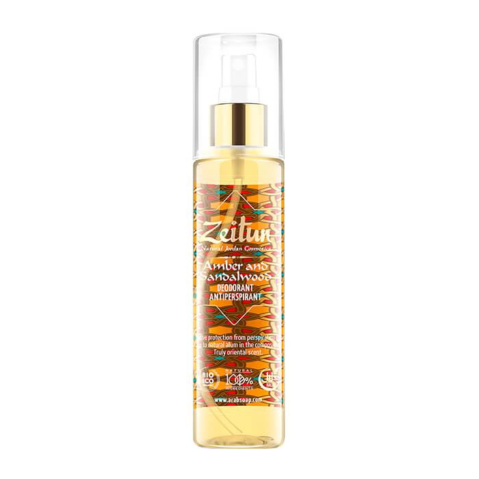 Deodorant Zeitun Amber & Sandalwood Deodorant Supplier