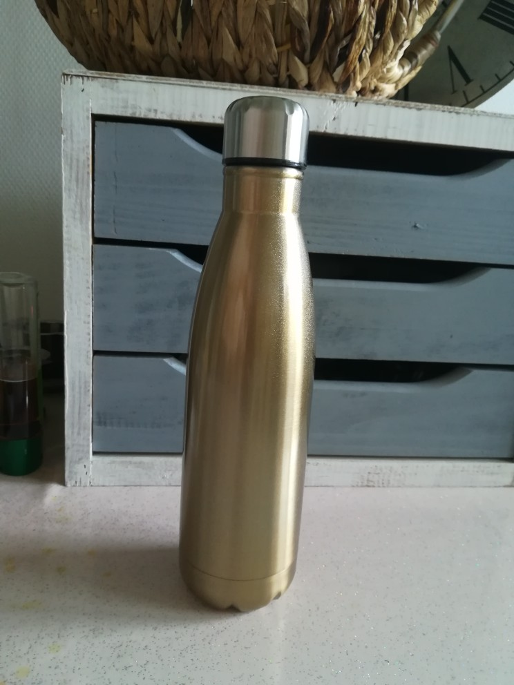 500ML thermos water bottle Double 304 Stainless Steel thermal flask vacuum thermos outdoor Sport Thermal Drink Bottle garrafa te|Water Bottles|   - AliExpress