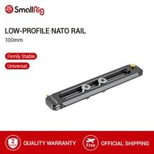 "SmallRig Low Profile NATO Rail 100มม.ยาว6มม.หนาNato Rail 1/4 "" 20สกรูสำหรับNato Clamp/Handle/Evf Mount  2485"