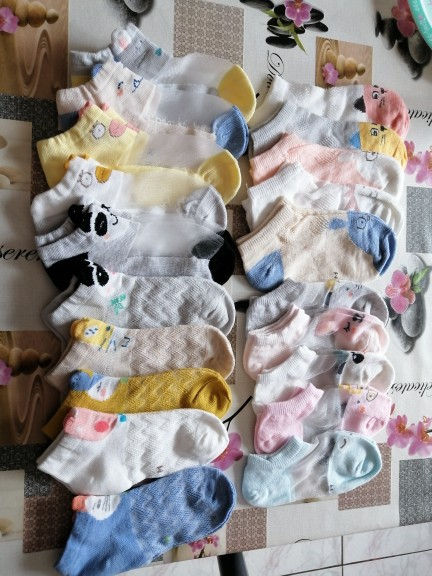 5 pairs/lot Children Socks Boy Girl Cotton fashion Breathable Mesh socks Spring summer High quality 1-12T Kids Birthday Gifts CN
