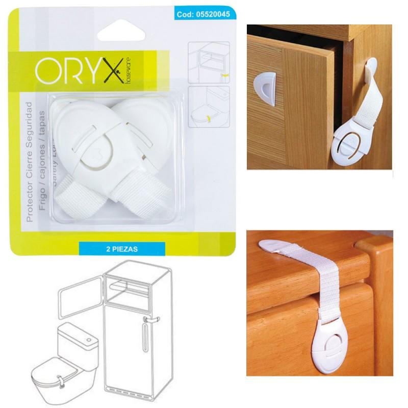 Protector Close Security Refrigerator/Cajon (Bister 2 Pcs)