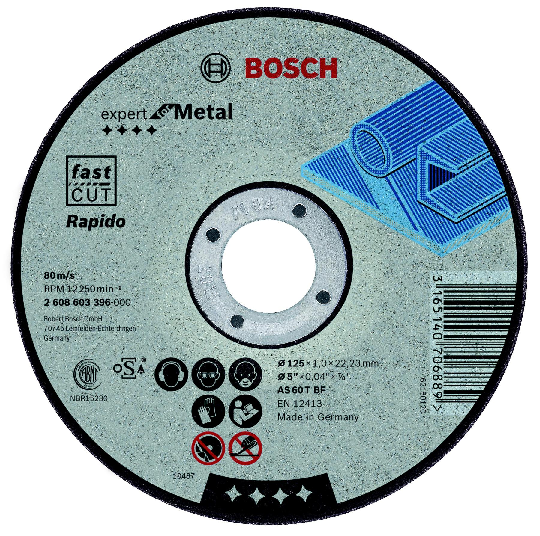Circle Cutting BOSCH 180х1. 6x22 Expert For Metal (2.608.603.399)