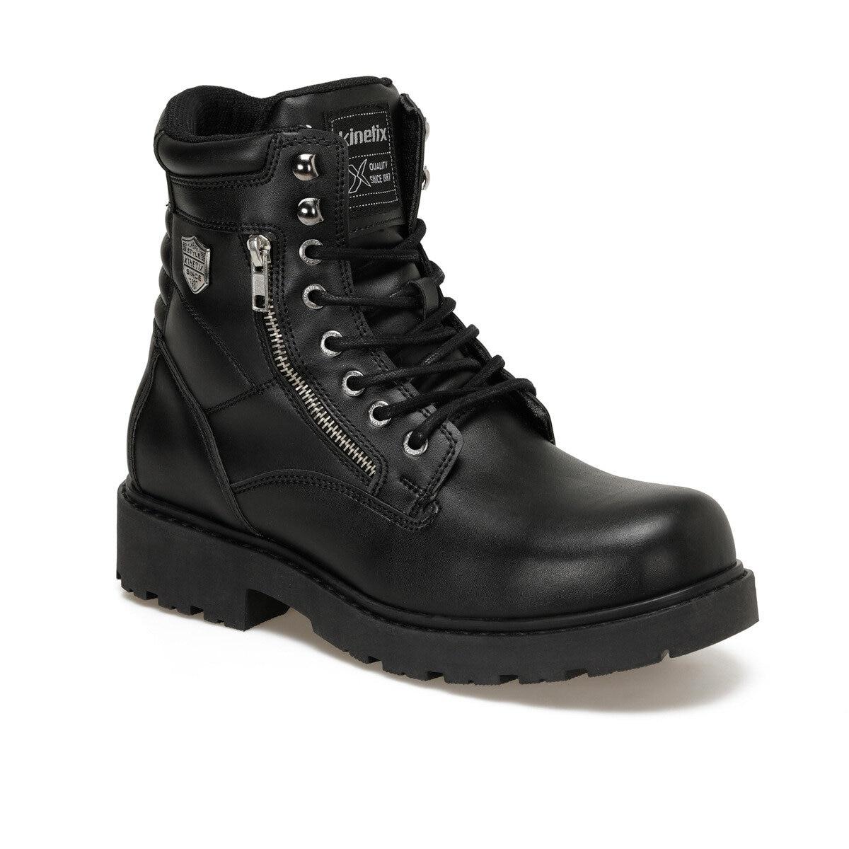 FLO ZOE 9PR Black Men Boots KINETIX