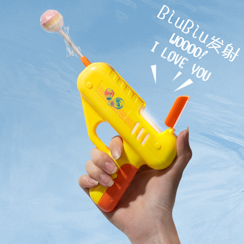 Internet celebrity express surprise candy strong toy good mood child McGee lollipop gun couple creative gift for girlfriend