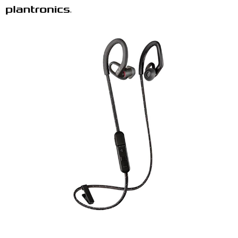 Stereo Bluetooth headset Plantronics BackBeat FIT 350, Black h 366t bluetooth 4 0 stereo music transmitter audio adapter black