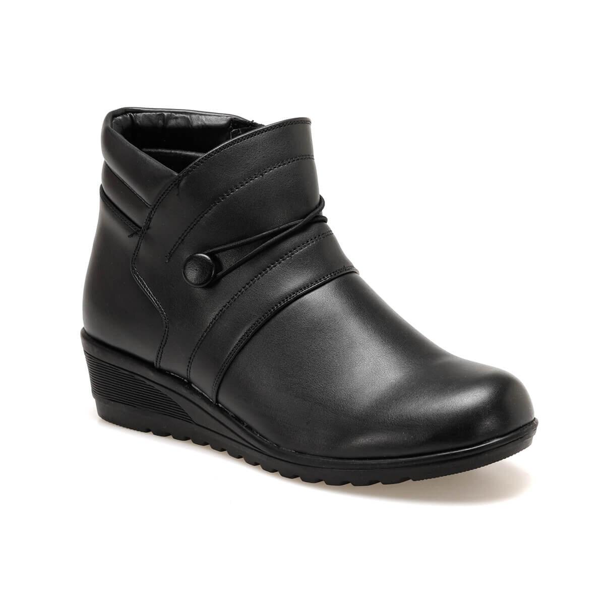 FLO 92.150365.Z Black Women Boots Polaris