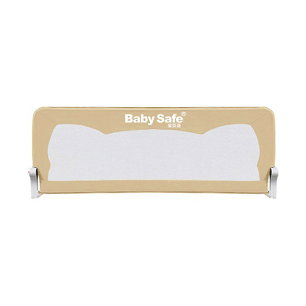 Barrier For Baby Crib Safe Ears 120х42 Cm Beige