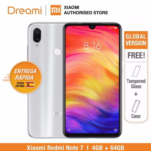 Global Version Redmi Note 7 64GB ROM 4GB RAM (Brand New and Sealed Box) note7 64gb