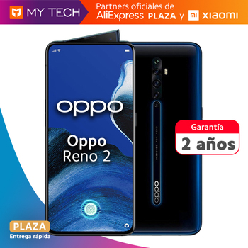 Перейти на Алиэкспресс и купить Oppo Reno 2, смартфон бесплатно, оригинал, старая гарантия 2, 8 ГБ + 256 ГБ