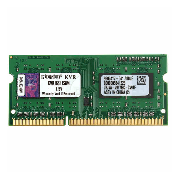 <font><b>RAM</b></font> Speicher <font><b>Kingston</b></font> IMEMD30096 KVR16S11S8/4 4 GB 1600 MHz <font><b>DDR3</b></font>-PC3-12800 image