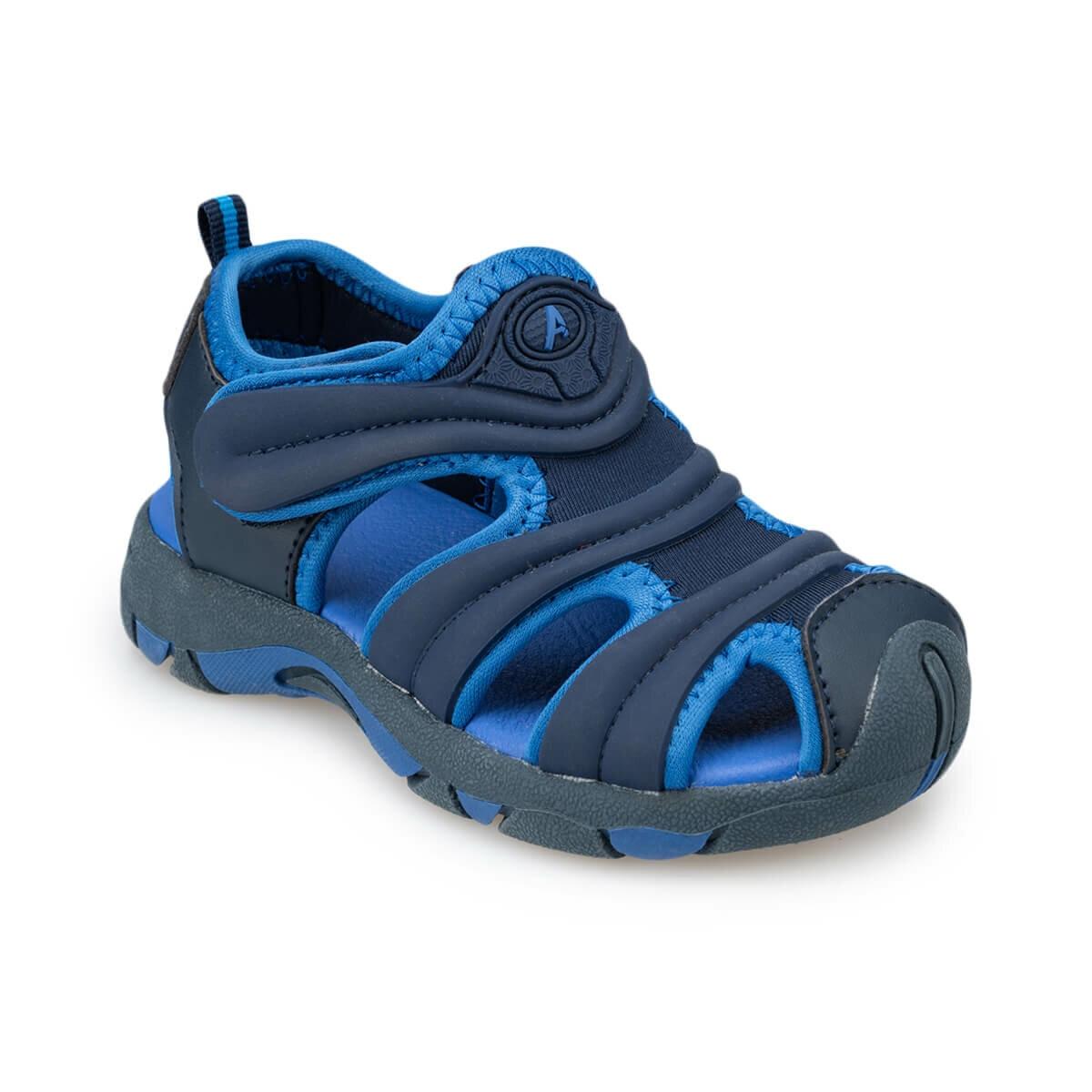 FLO 91.511194.P Navy Blue Male Child Sports Shoes Polaris