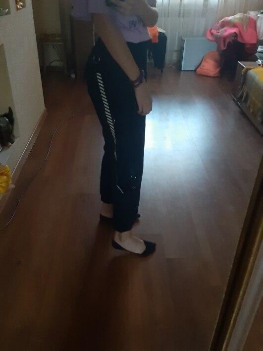Calças e capris harajuku calças mulheres