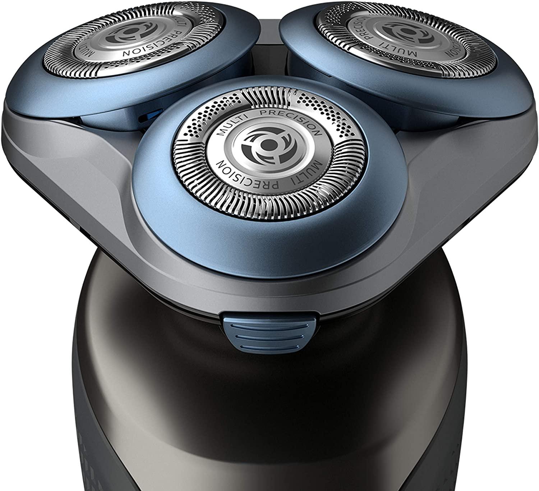 Philips S6640 / 44 Влажная и сухая бритье серии электробритва 6000 с многоточной системой бритья, SmartClick стайлер для бороды 2