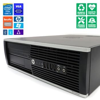 PC desktop HP 8300 SFF refurbished i5-3470 4GB-RAM SSD 120GB DVD Windows 10 Pro update