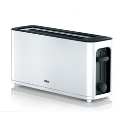 Toaster Braun HT3100WH 1000W White