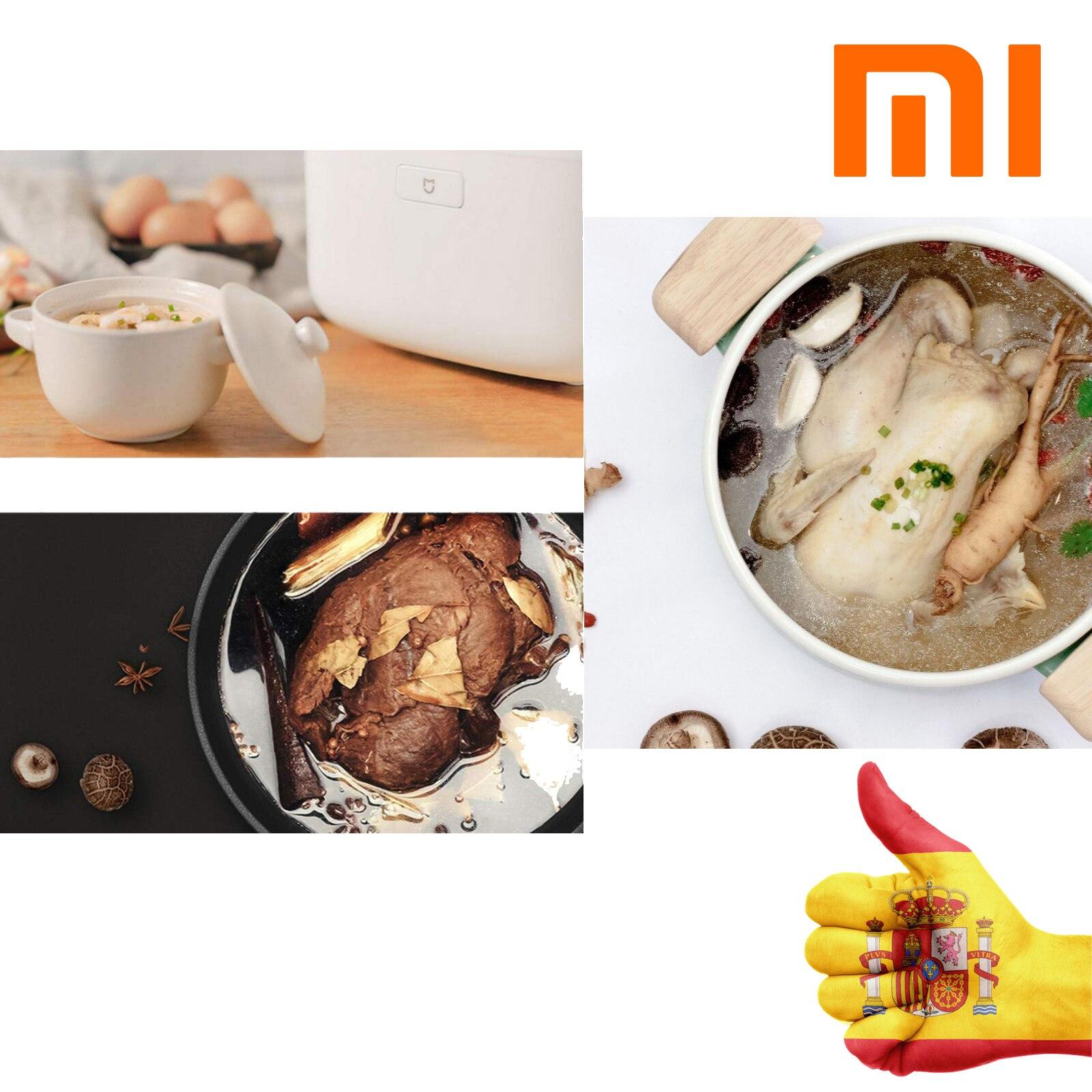 XIAOMI Пароварка для риса умная, индукционная нагревательная рисоварка оригинальная функция приложения кнопки дистанционного управления IH - 6