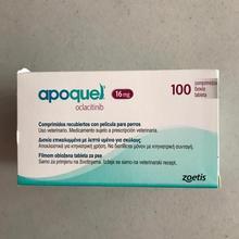 ZOETIS APOQUEL 16 MGR 100 таблеток лечение зуда дерматит ATOPICA парк собак APOQUEL 16 MGR