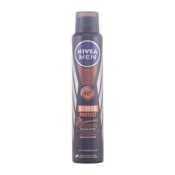 Spray Deodorant Men Stress Protect Nivea (200 Ml)