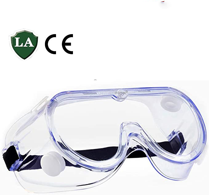 Safety Goggles, Medical Protective Glasses, Dust-Proof Breathable Laboratory Dust Proof Glasses, Splash Goggles, For Constructio
