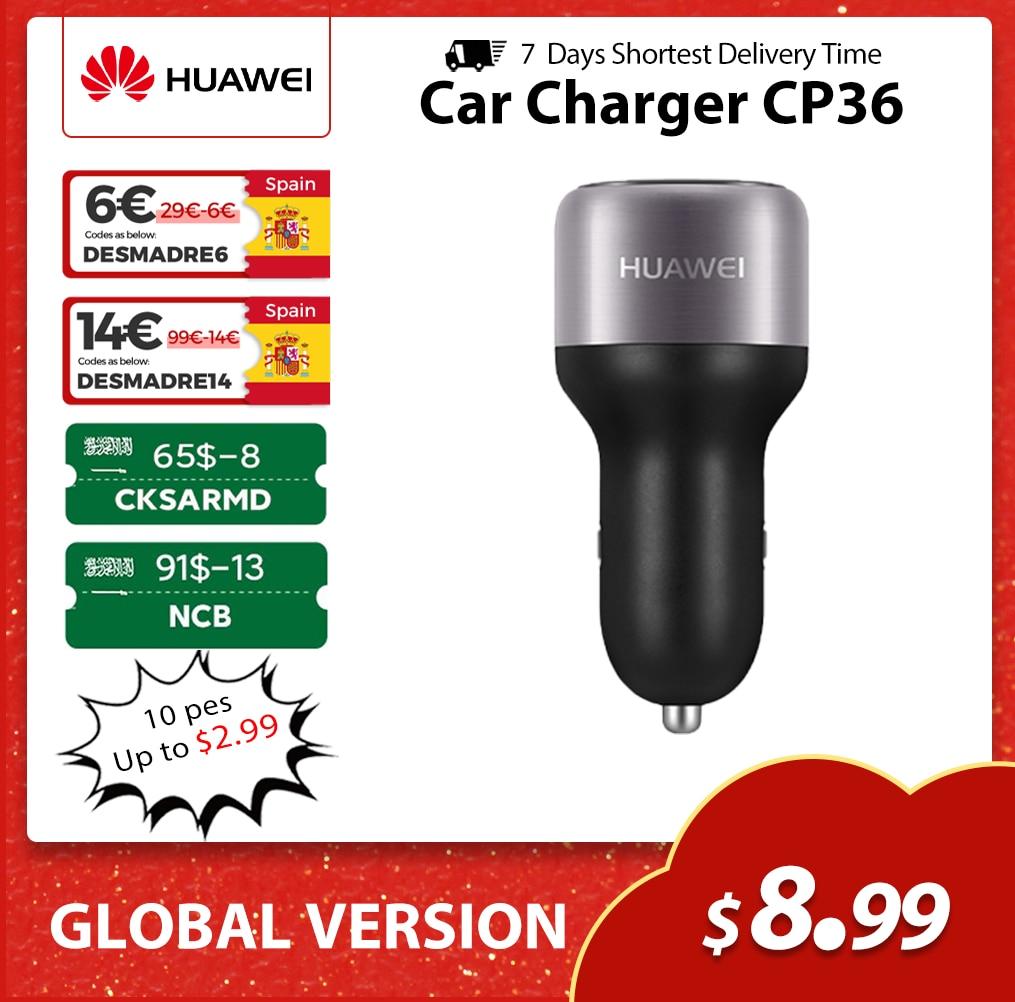 Huawei לדחוס Autolader מקסימום 22.5W סופר ChargCP36 מתאם Dubbele Usb 5A סוג-C Kabel Voor Huawei Mate30 mate20 פרו Mate20