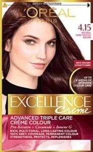 Loreal Excellence farba do włosów 4 15 urocza kawa 247226928 tanie i dobre opinie