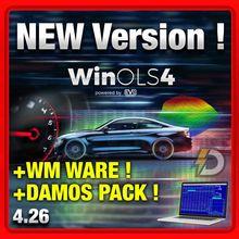 WinOls-Nueva versión 4,26, WMWARE, paquete completo + Paquete de verificación completo + Paquete de Damos + Paquete de sintonización, Chip winols, Nuevo paquete