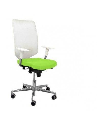 Office Chair Model Ossa White Fabric
