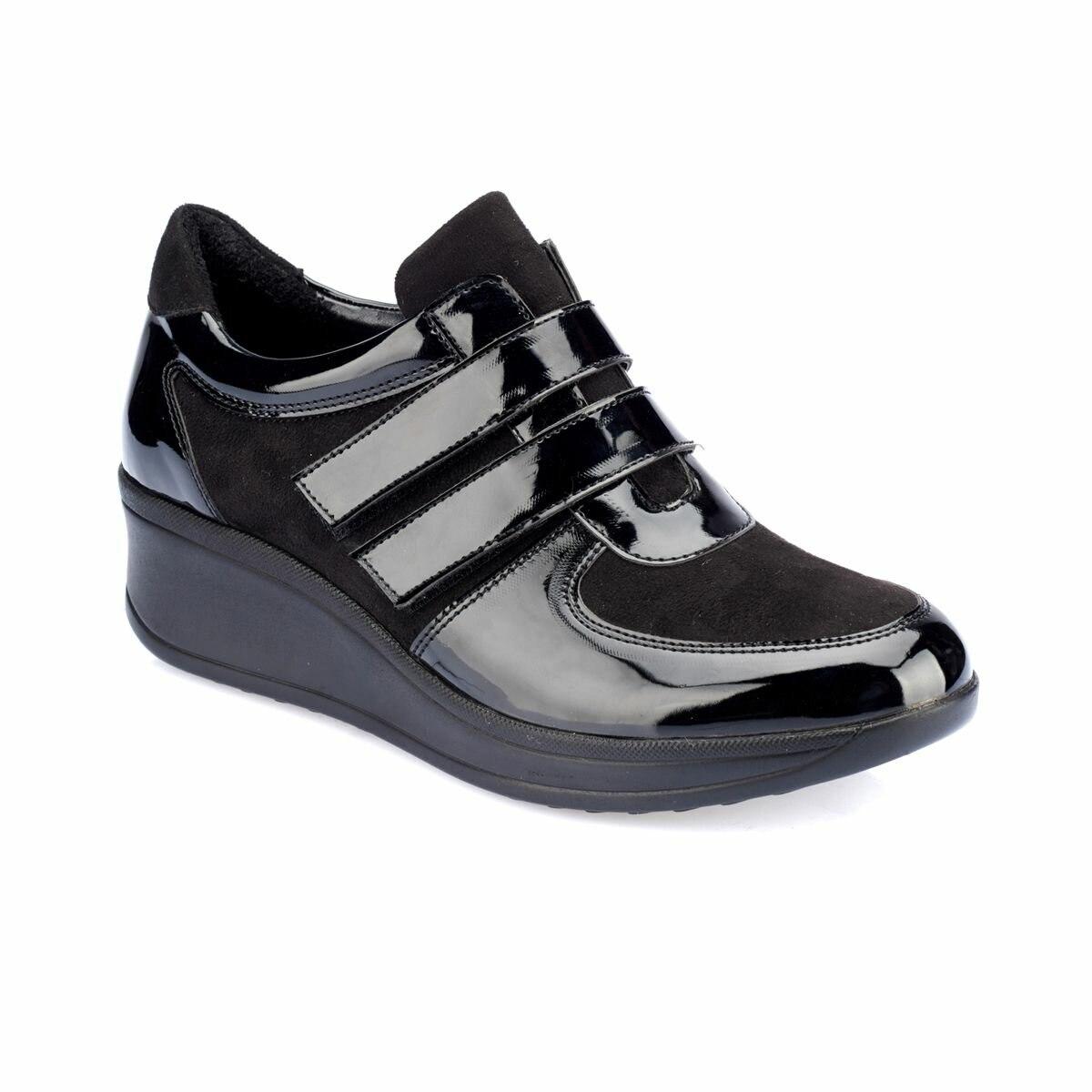 FLO TRV8211 Black Women Shoes Polaris