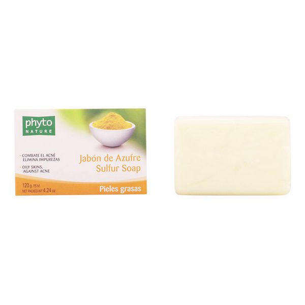 Sulphur Soap Bar Phyto Nature Luxana (120 G)