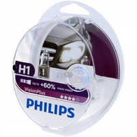 PHILIPS 12258VPS2 H1 12 V-55 W (P14, 5S) (+ 60% light) vision Plus (2 pcs) 5298