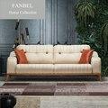 FANBEL Furiniture conjunto único frame de madeira da cadeira do sofá sala luxo ELIT