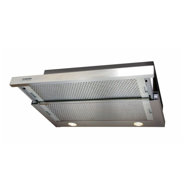 Conventional Hood Nodor EXTENDER 22 60I 60 Cm 390 M3/h 45,5 DB 100W Stainless Steel