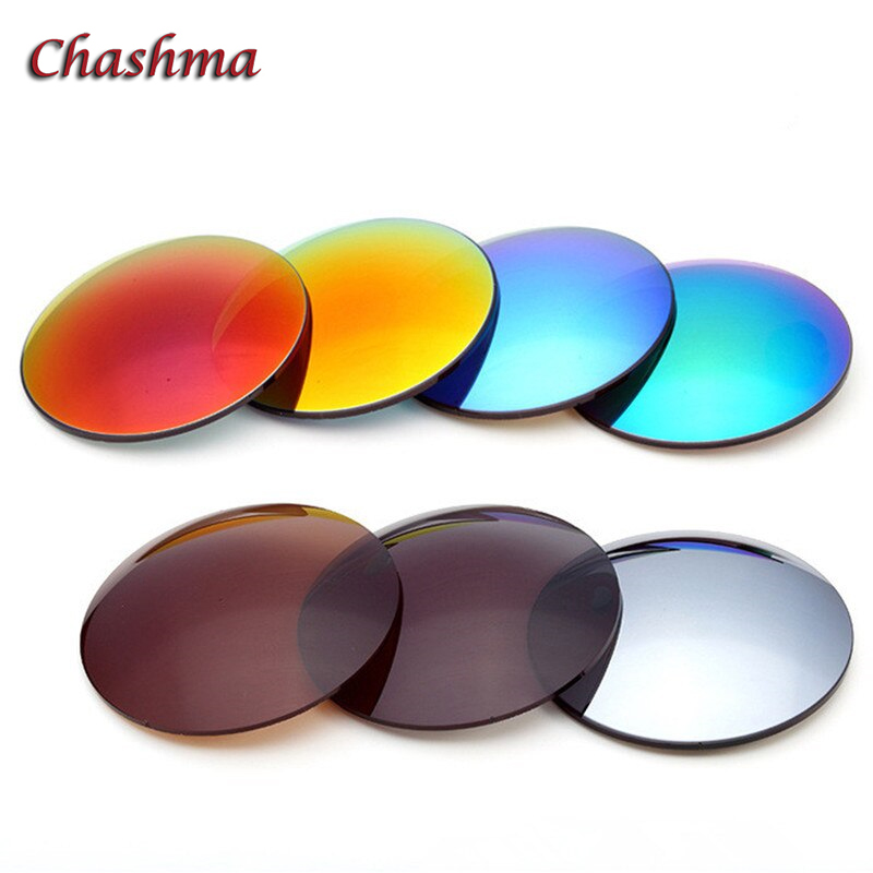 1.56 Index Multifocal Free Form Progressive Polarized Sunglasses Lenses UV Protection Anti Glare Mirror for Driving and Fishing