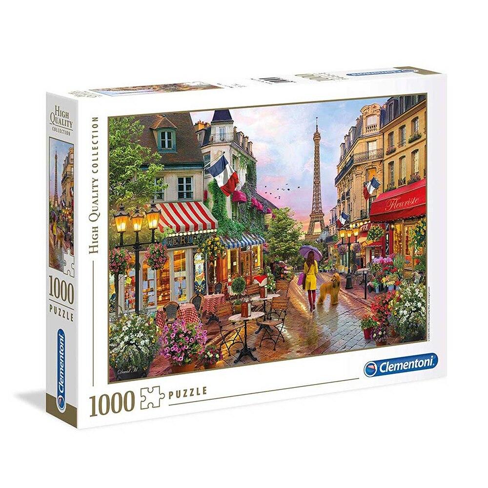 Clementoni Puzzle 1000 Pieces Clementoni Flowers In Paris