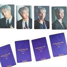 KPOP Store 4pcs Bangtan Boys BangBang Con The Live Postcards Photo cards JIMIN JIN JUNG KOOK Fans Collection