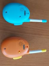 A nice pair of PMR446 for kids. They operate on CH8 with no sub-tone (CTCSS). While transm