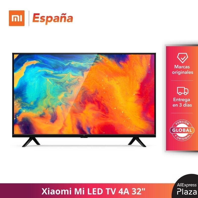 "Xiaomi Mi LED TV 4A 32"" Dolby + DTS , Cuatro núcleos de 64 bits, Quad Core Android 9,0 HD Televisión WIFI, Bluetooth 4.2 Versión Global Original|Smart TV|   -"