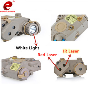 Image 4 - Element Airsoft PEQ 15 Tactical Flashlight Surefir M600  PEQ 15 Red IR Gun Laser Lantern For Hunting Lantern Weapon Light PEQ