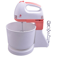 Mixer with bowl василиса ва 503н white coral