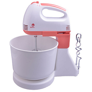 Mixer With Bowl василиса ва-503н White Coral
