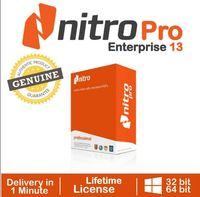 Nitro Pro 13 PDF 2020, Viewer, créateur, éditeur d\'origine Licence,  version complète