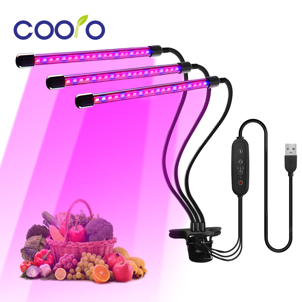 Full Spectrum Phytolamps USB LED Grow Light 9W 18W 27W Phyto Lamps For Plants Seedlings Flower Indoor Fitolamp Grow Box