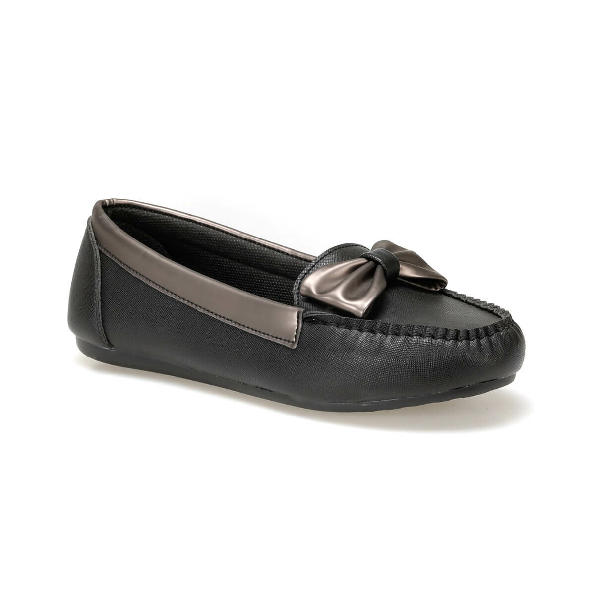 FLO DW17058-19K Black Women Loafer Shoes Miss F